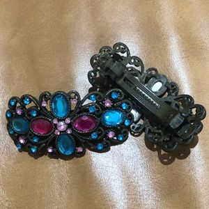 Accessories - Princess Jewel Hair Clips